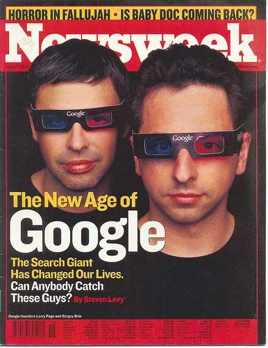 Larry Page & Sergey Brin of Google